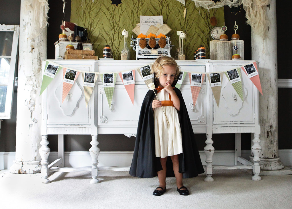 ハロウィンも結婚式のお呼ばれでも使えるリボン風ヘアアレンジ