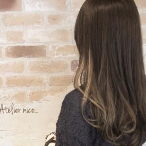 チラ見せインナーカラーでヘアスタイルがもっと可愛くなる♪