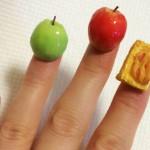 爪にリンゴやアップルパイ?!超立体ネイルアートが可愛すぎる!