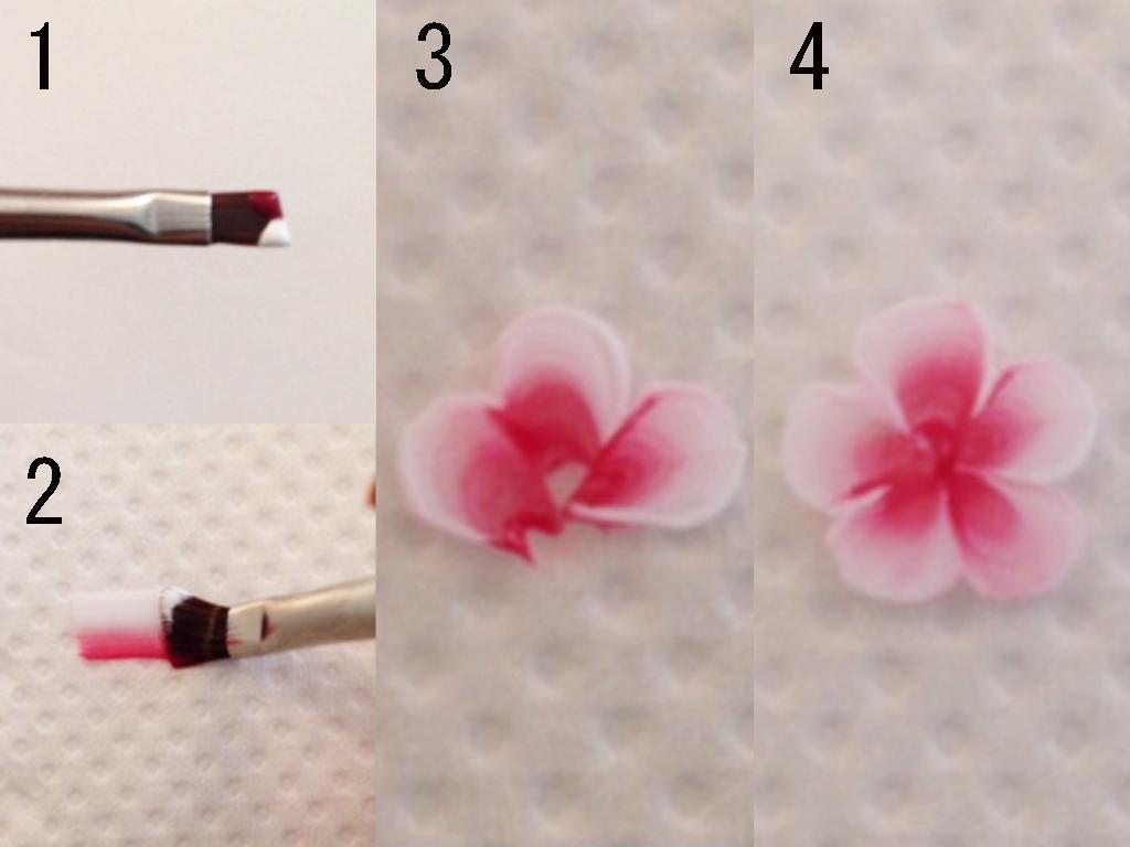 花びらがもっとリアルに描けちゃう♪グラデーションでの使い方
