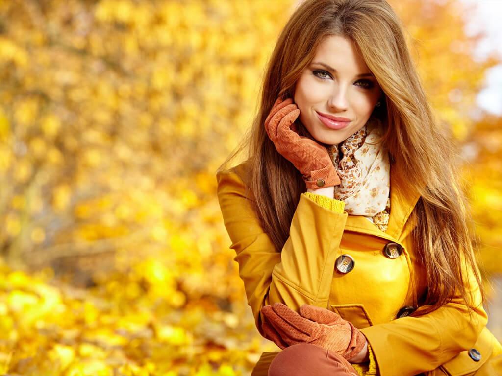 柔らか&クスミを出して、秋っぽさを表現♪