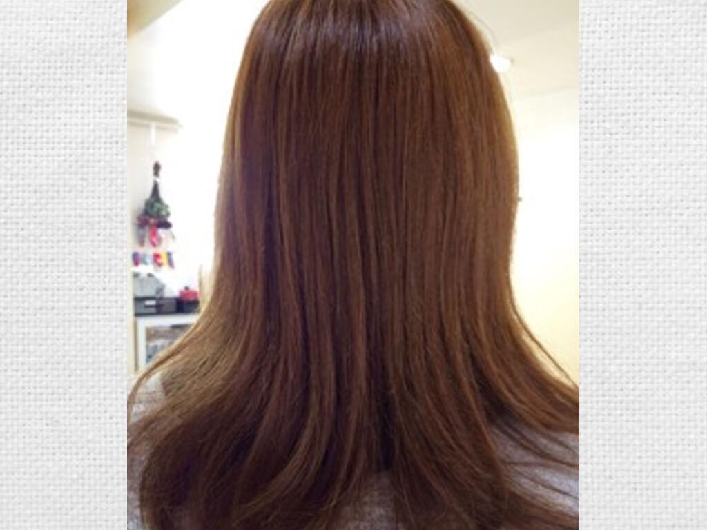 キレイに髪を染めるなら、ミルフィーユカラー♪