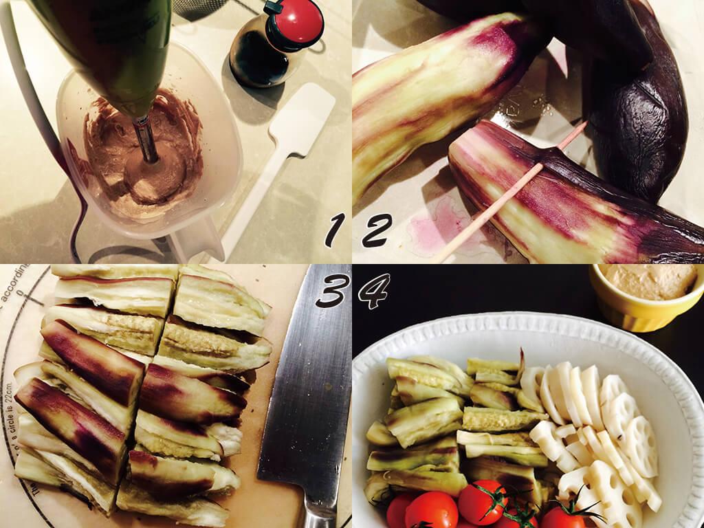 野菜がもっと美味しくなる♪「くるみだれ」の作り方