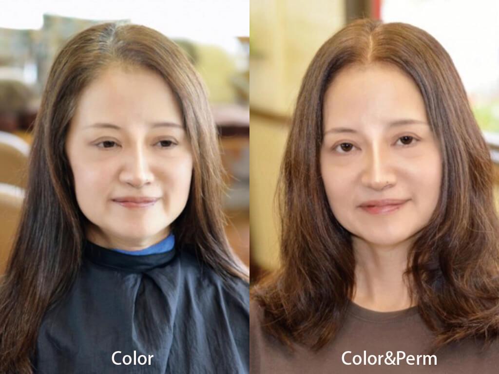 美容師さんにじっくり相談して、いつもベストな選択を