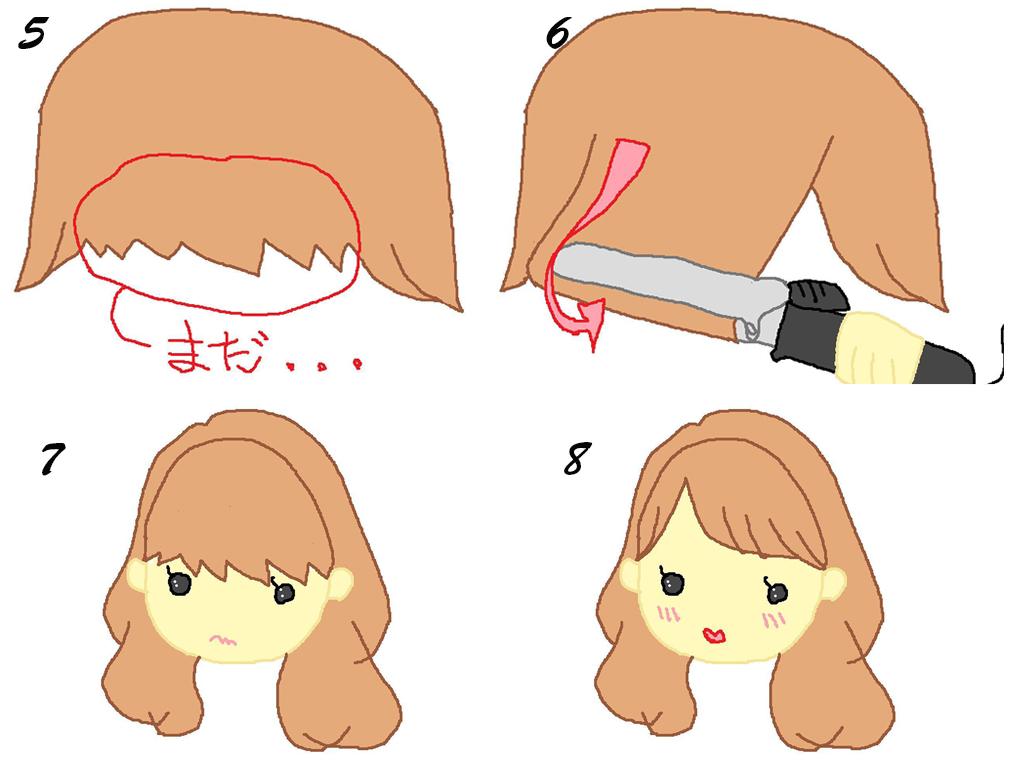巻き方のコツをGETして、いつも素敵な前髪に♪