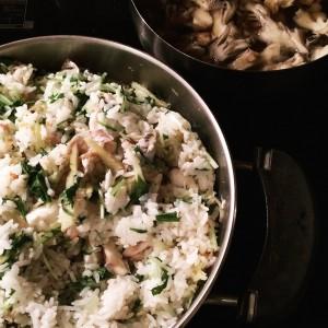 たくさん食べても太らない!「鯛水菜飯」で満腹♪ダイエット