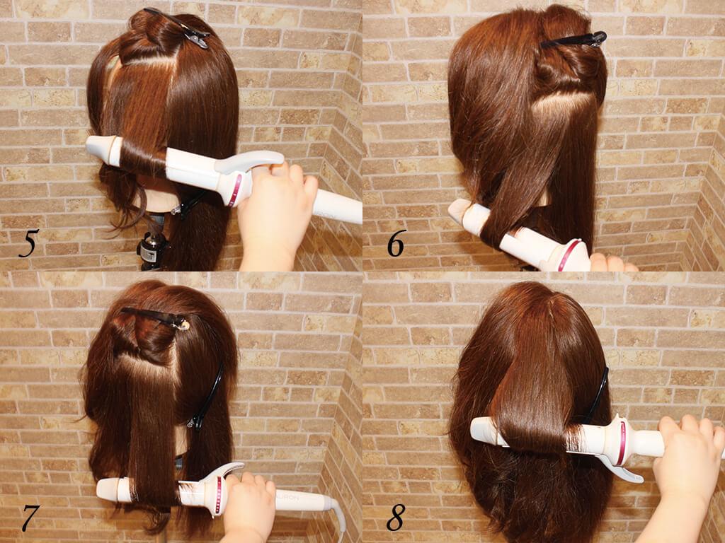 髪は適量で巻いていくこと!やってはいけないNG行為とは