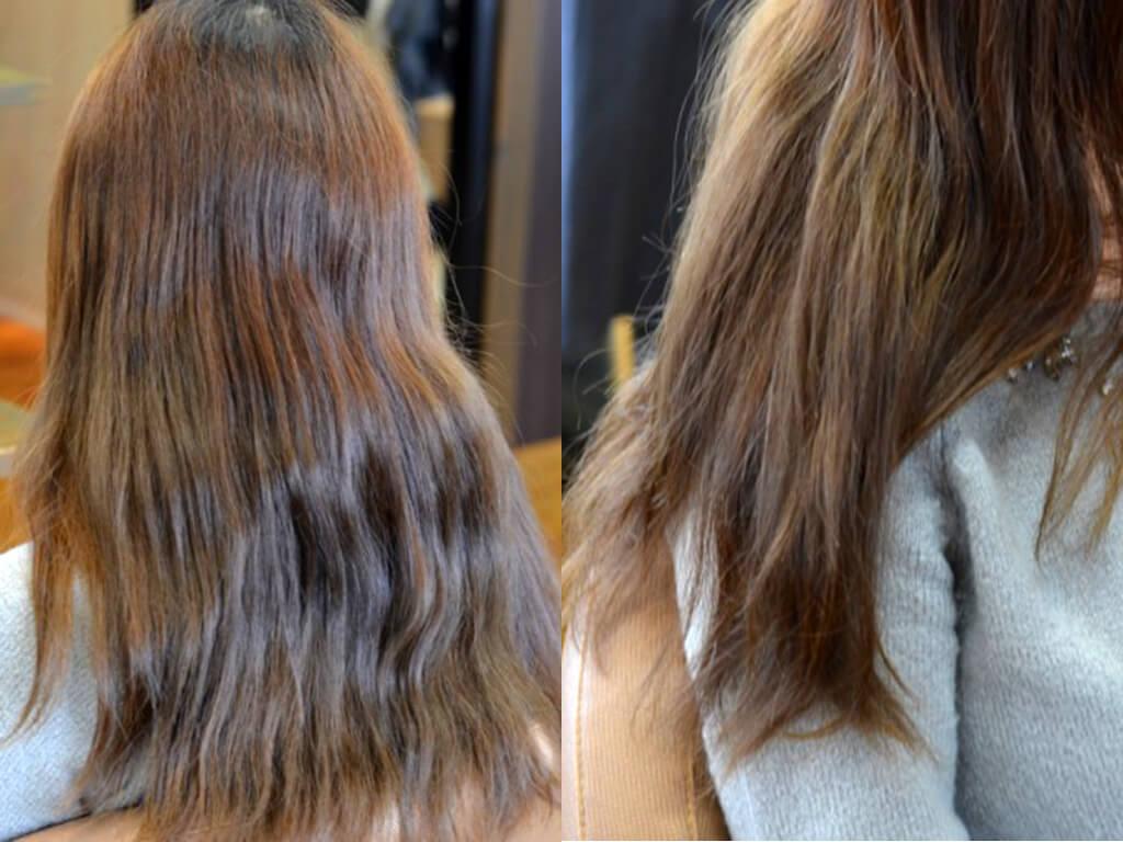 縮毛矯正で髪へのダメージを軽減できる♪