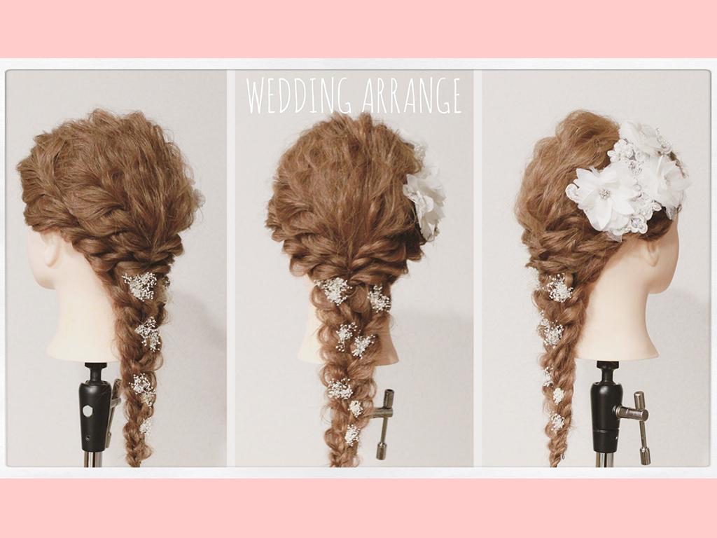 今、結婚式で人気なのはダウンスタイルのヘアアレンジ