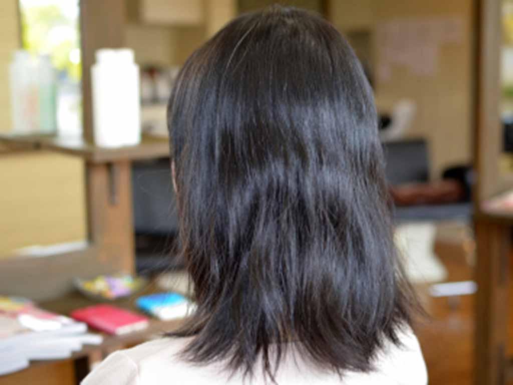 黒髪の良さを生かす♪ロブ系デジタルパーマのススメ