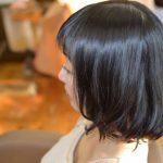 春おすすめ!黒髪が可愛くなるパーマは艶とまとまりがポイント!