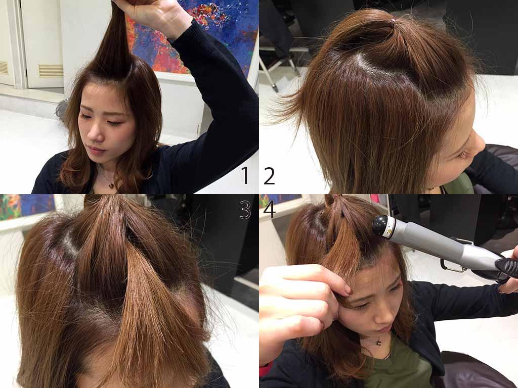 ハットに似合う前髪の作り方