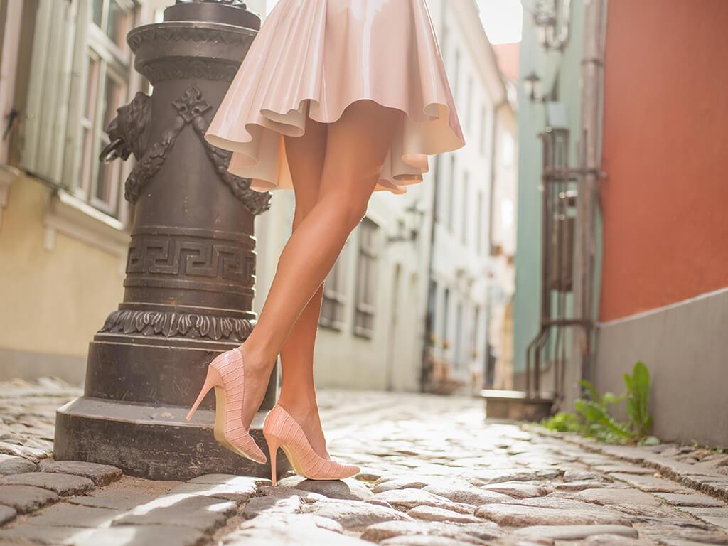 おしゃれは足元から。美しさは足首から。