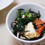 美肌&便秘解消も♪切って混ぜるだけ!ひじきと豆腐の簡単サラダ