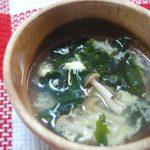 美肌にもダイエットにもぴったり♪春旬わかめスープのレシピ