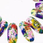 2016春は爪いっぱいのフラワーアートネイルが可愛い!