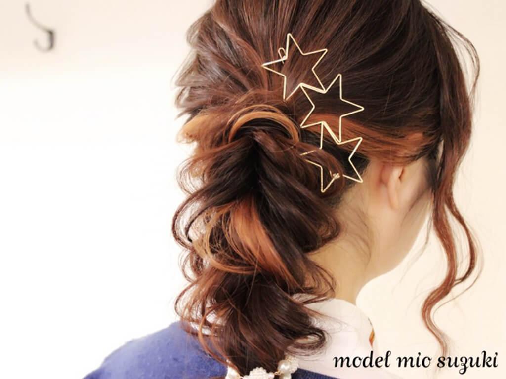 ダメージレスでできる♪髪に優しいヘアアレンジ
