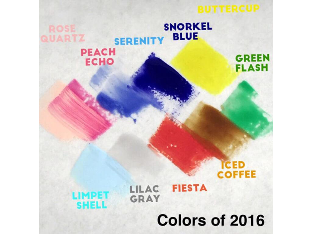 PANTONE社から発表されている2016年の色は…