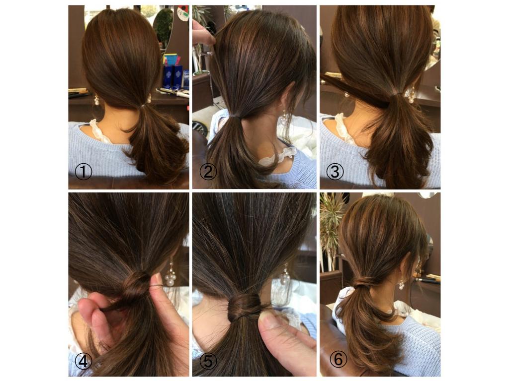 簡単2分でできる!オトナ女子のシンプル&こなれヘアアレンジ手順