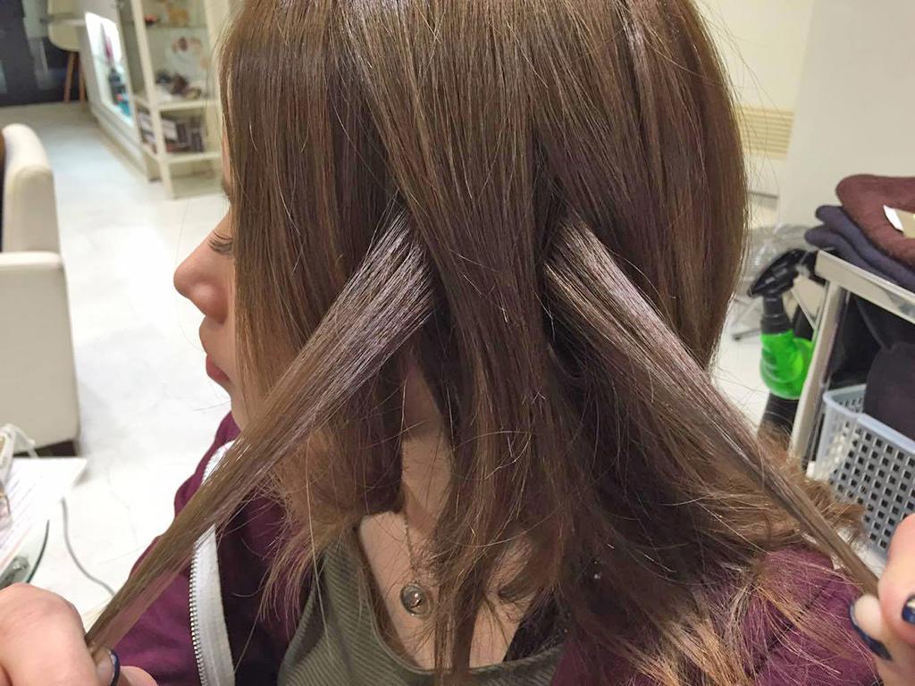 ホントに簡単!自分の髪の毛を蝶々結びするだけ!