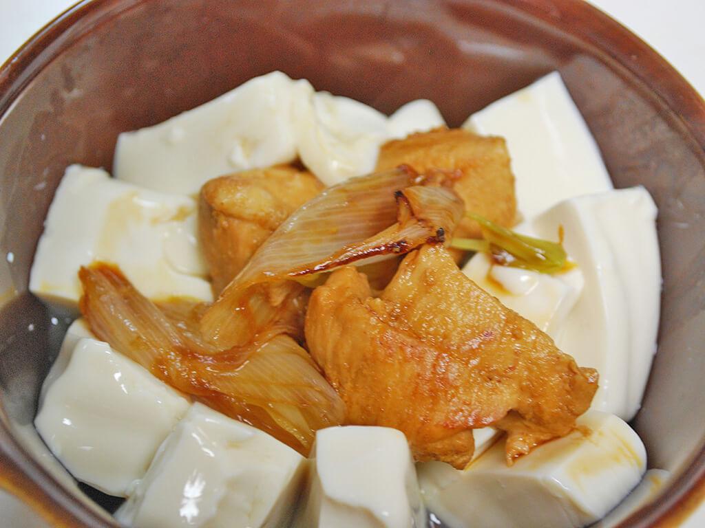 豆腐の照り焼きチキングラタンの作り方