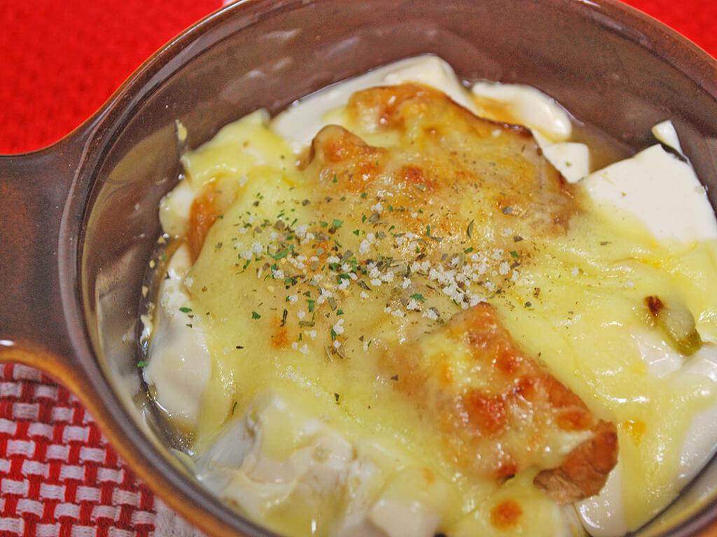 豆腐×鶏肉の合わせ技レシピでキレイに♪