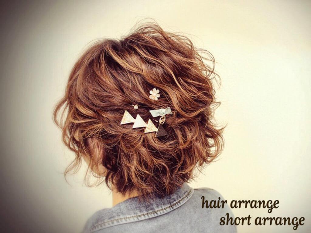 ショートヘアが可愛くなる♪ショートのヘアアレンジ
