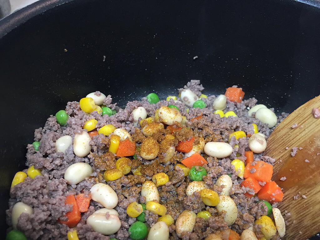 めちゃ簡単!大豆のキーマカレーのレシピ