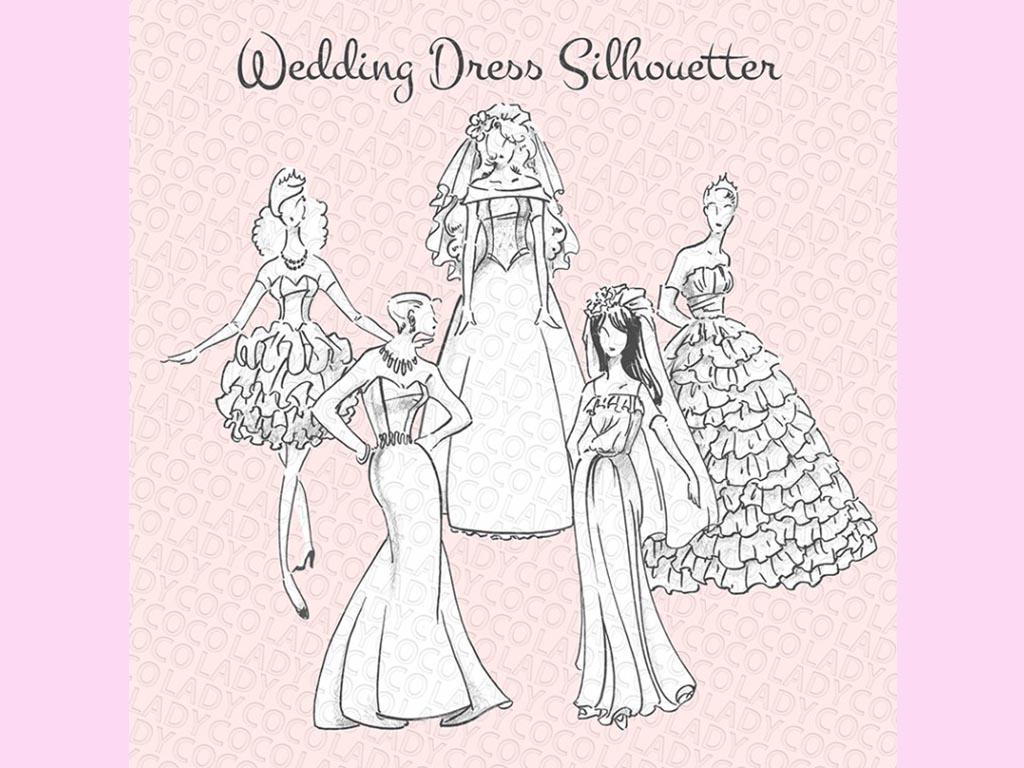ドレスに合わせて選ぶ♪ブライダルデザイン4つ
