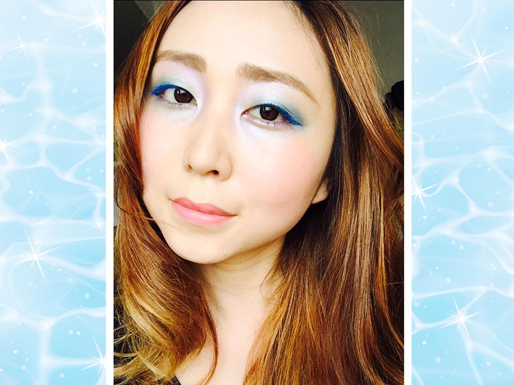 夏のフェスやイベントにぴったり♪人魚姫風メイク