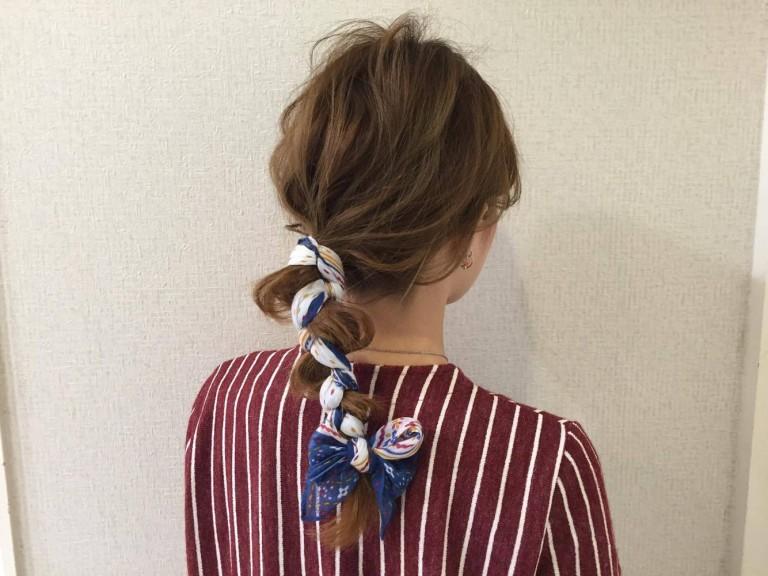 三つ編みが可愛いヘアアレンジにチェンジする○○って?