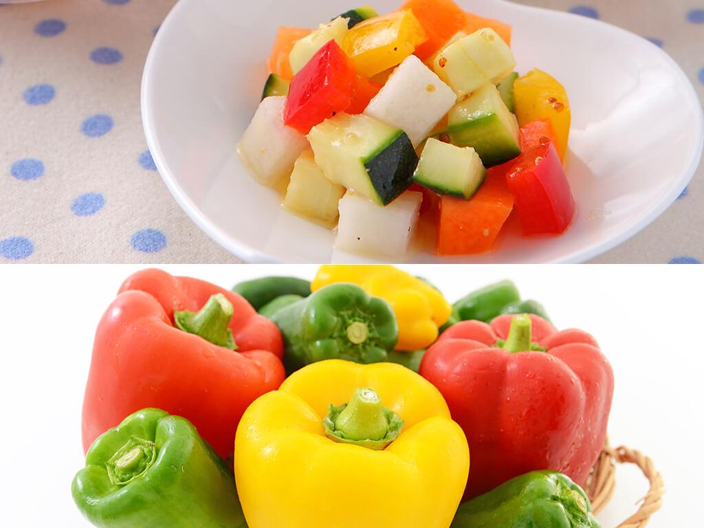 彩り野菜のスパイシーピクルスのレシピ