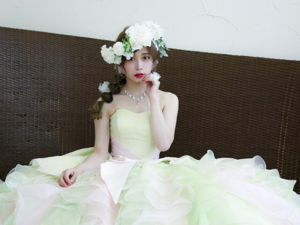 ブライダルヘア②花冠