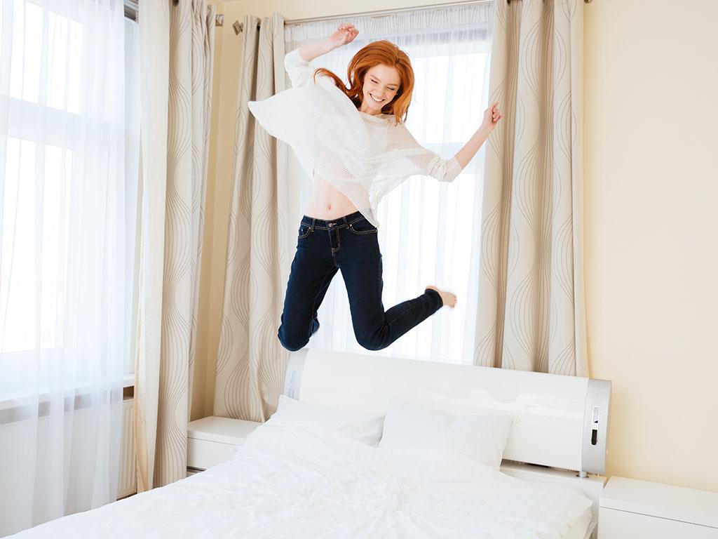 ③起きてすぐにその場でジャンプを10回する