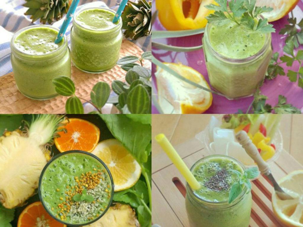 ダイエット・腸内環境改善に「グリーンスムージー」