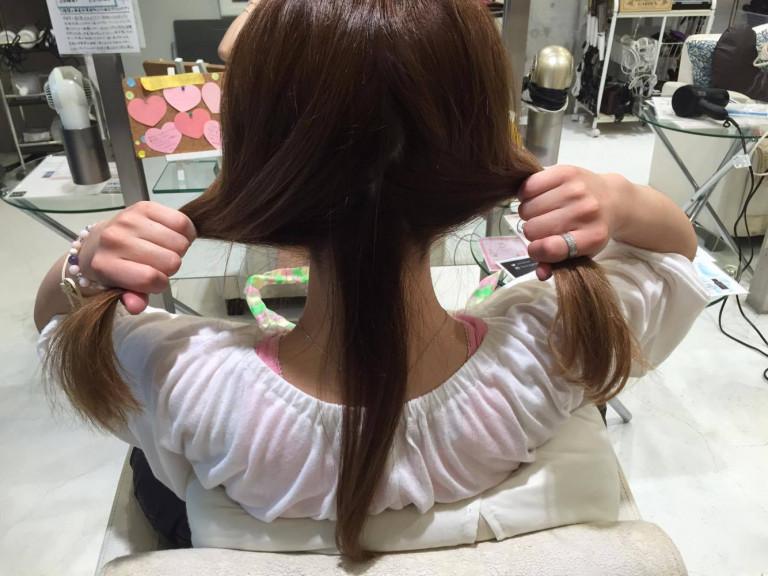 三つ編み&裏技でかわいい♪秋のお出かけヘアアレンジ