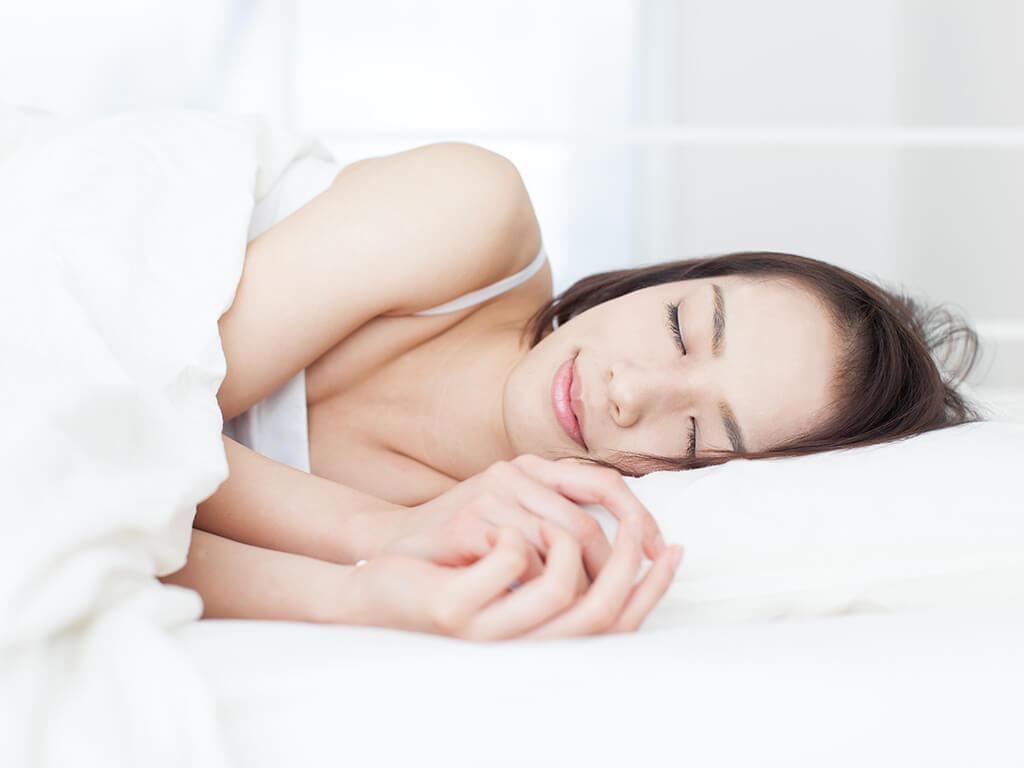 ②1日好きなことをして、目覚ましなしでぐっすり眠る