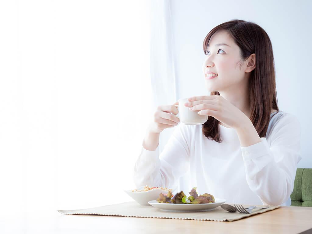 美容にも健康にもいい朝食で1日をスタート!