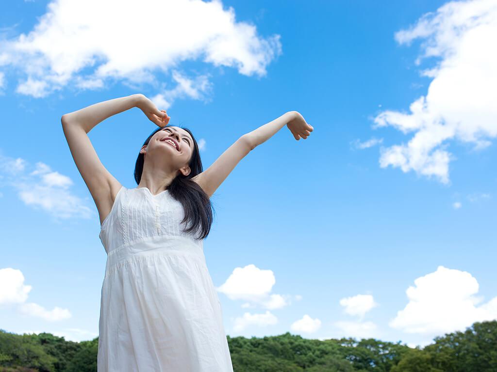 ①心身共にリラックスできる♪呼吸法をマスター!