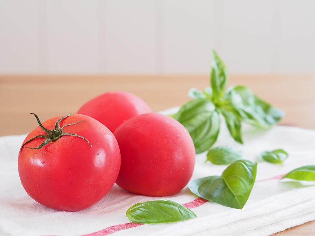 焼きトマトのブルスケッタのレシピ