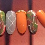 秋ネイルはアースカラーがトレンド♪秋ネイル3パターン