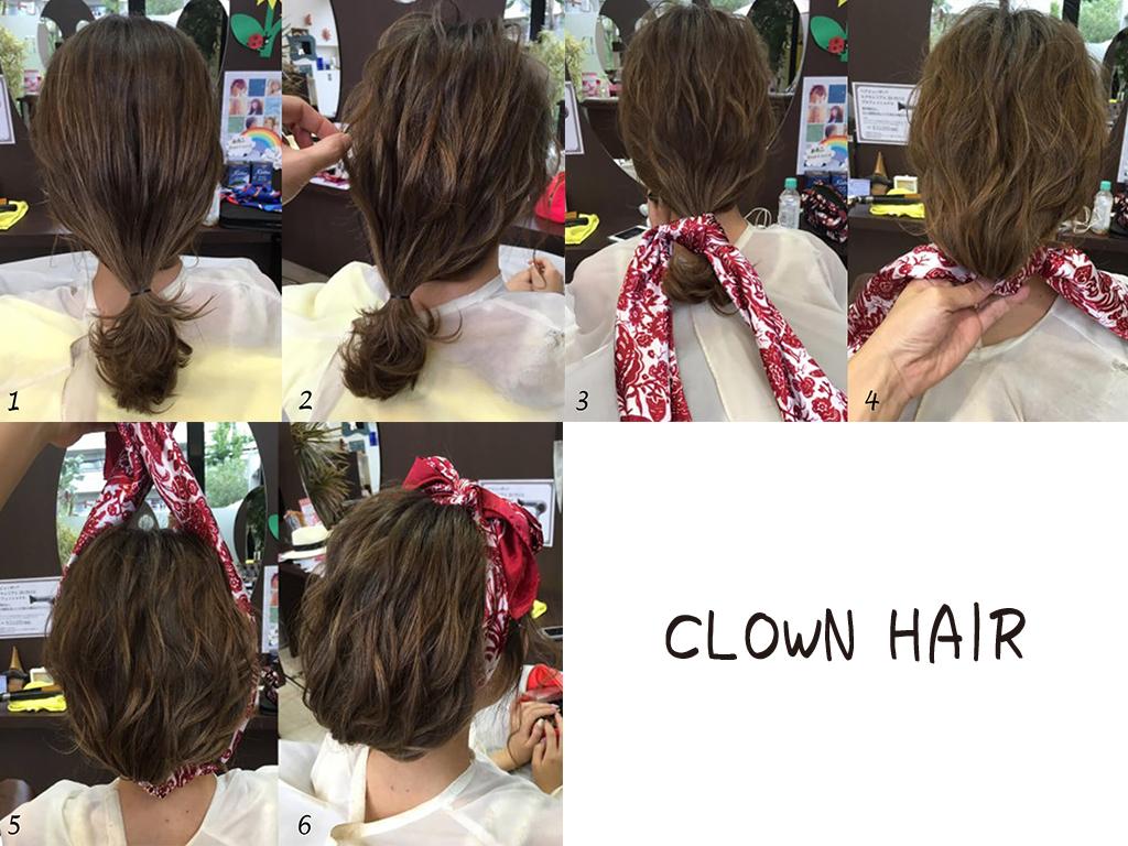 4日目:髪を切らずにイメージチェンジ♪ボブ風ヘアアレンジ