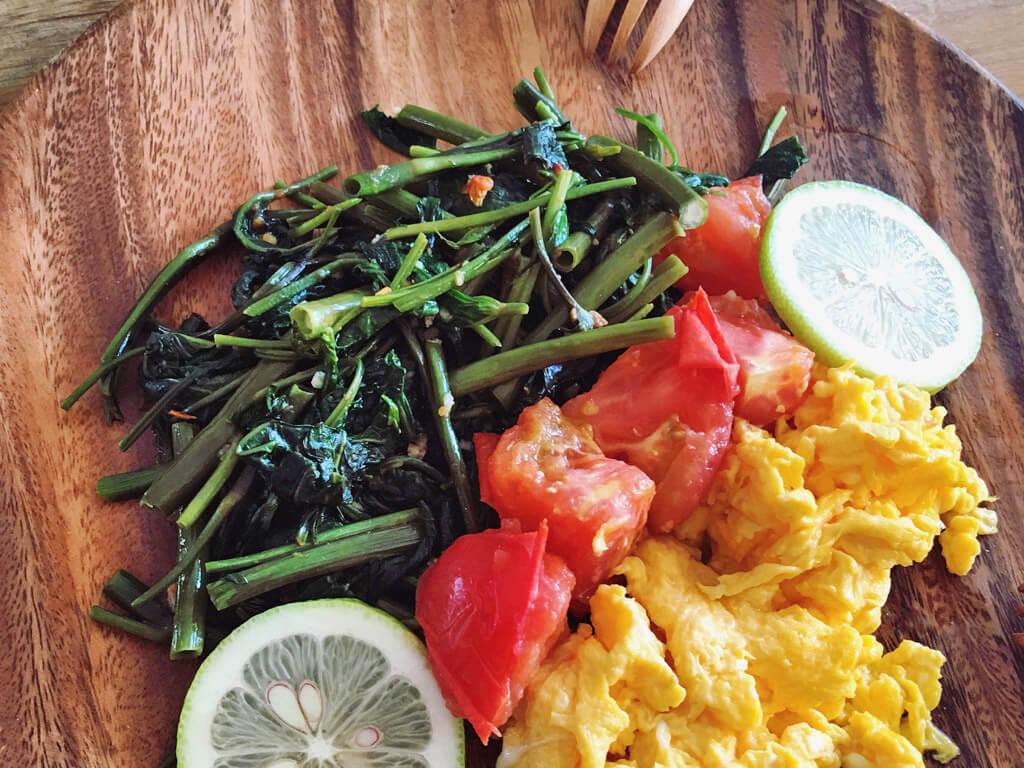 空芯菜にはほうれん草の2~4倍の栄養がある?!