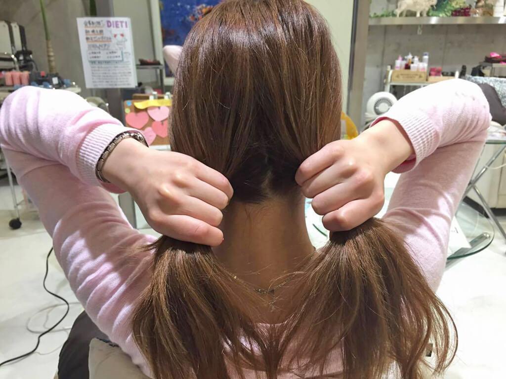 超簡単!まとめ髪アレンジの手順