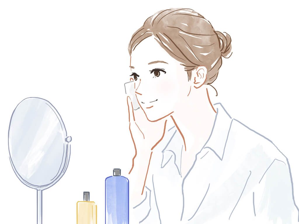 顔と体のアフターケア方法