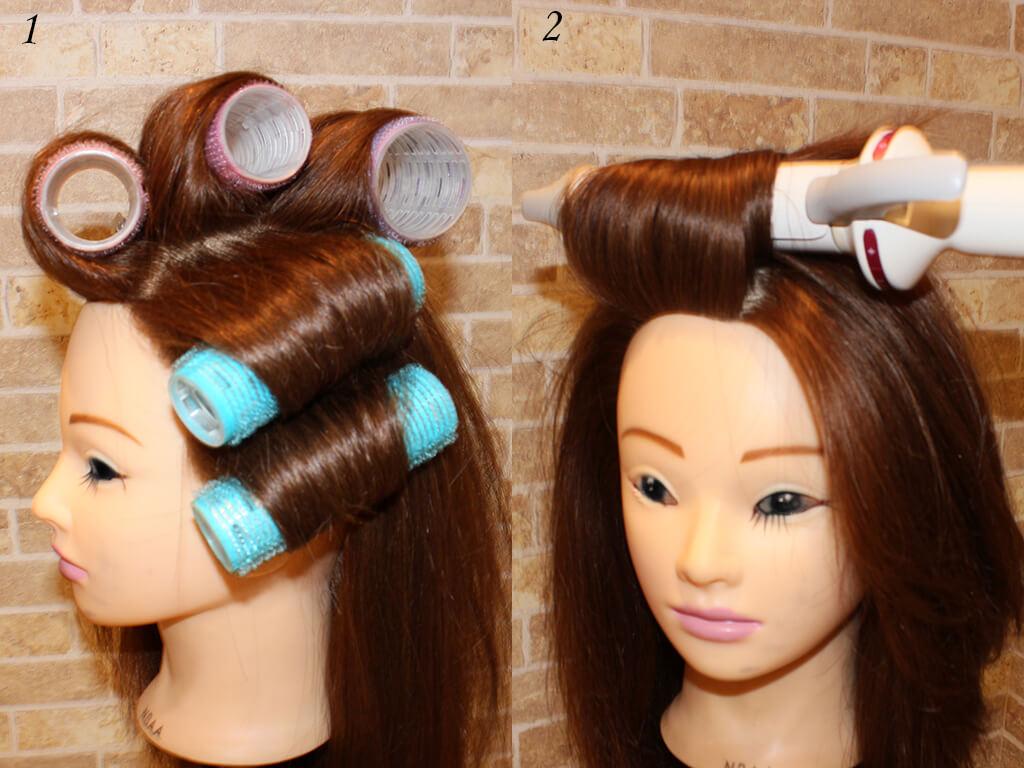 自宅にあるツールで簡単につくれるかき上げ前髪