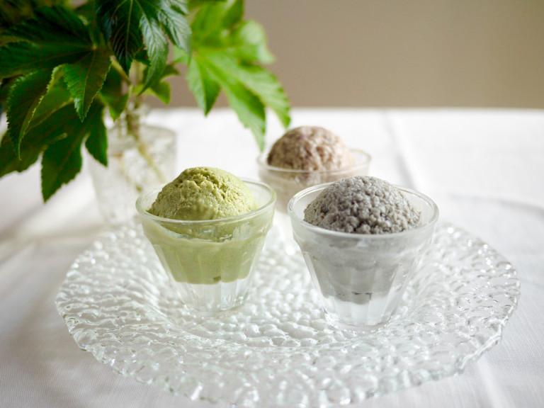簡単♪砂糖も添加物も不使用のごまアイスでキレイをGET!