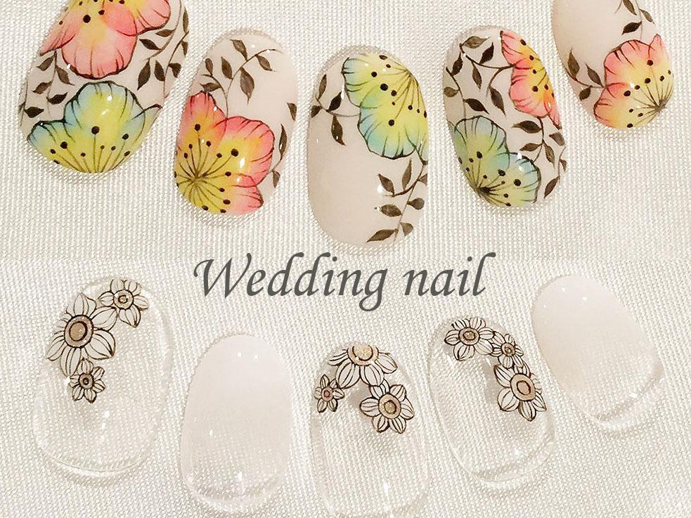 特別な結婚式だからこそ、ネイルにもこだわりたい!!