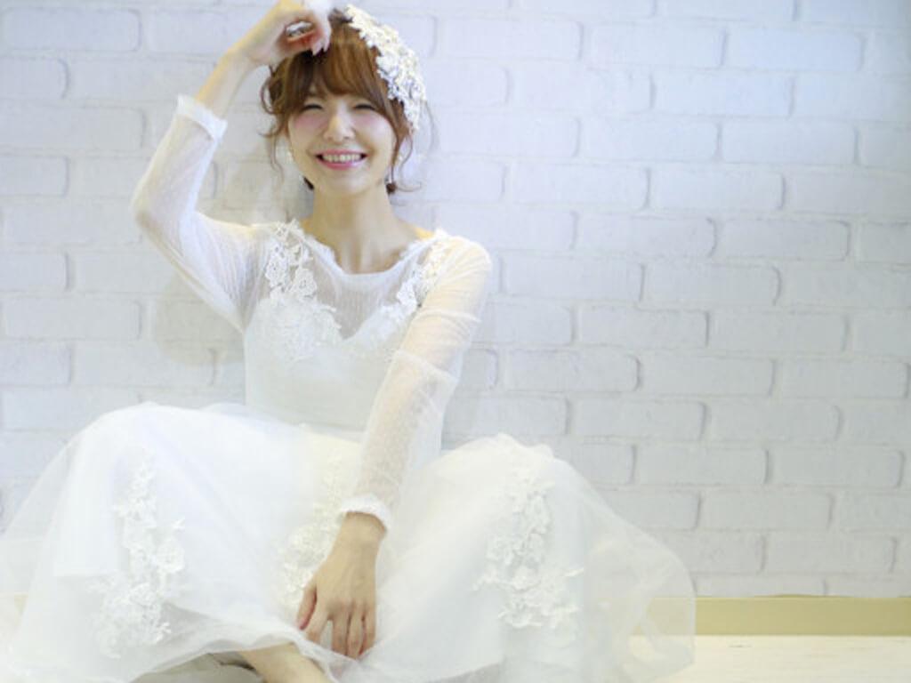 花嫁さんのブライダルヘアはトータルで美しく♪