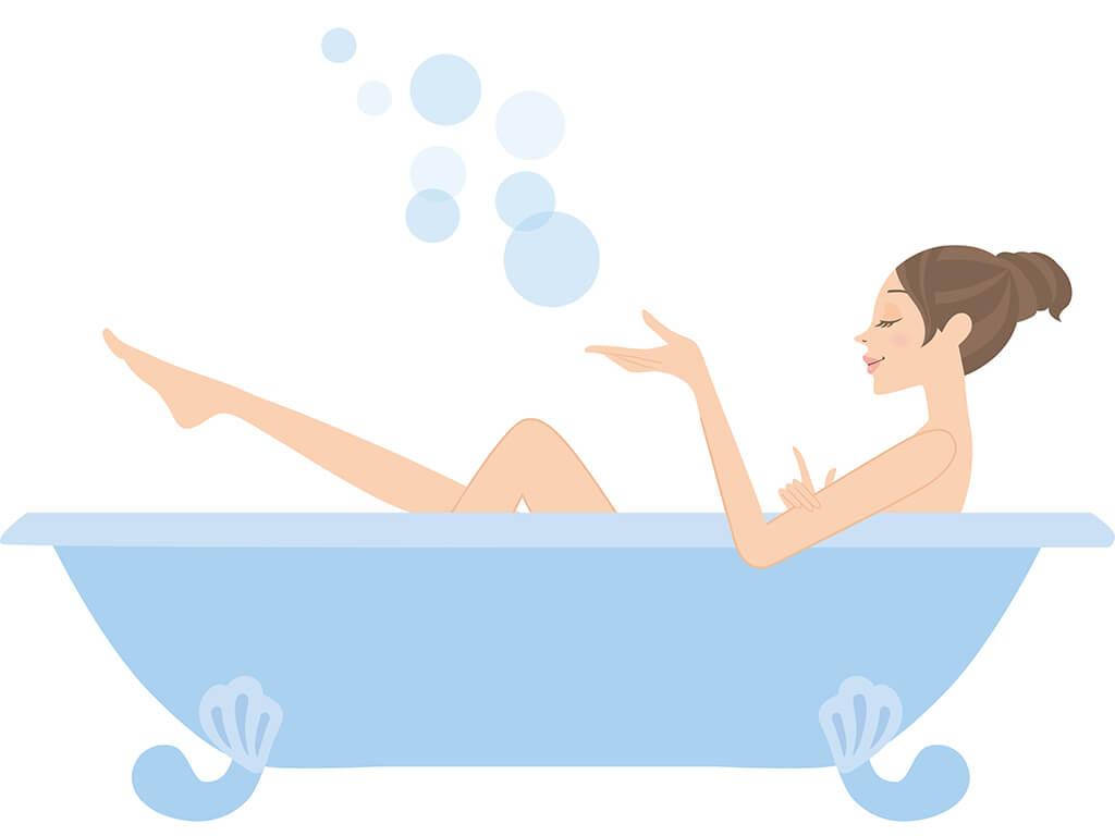 ストレスを解消するには五感入浴法で美デコルテをGET♪